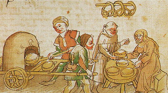 food and cooking in the medieval times Increasing urbanization during the high middle ages led to the growth of a  thriving economy of  recreating medieval street food: recipes.